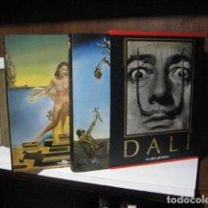 Libros de segunda mano: DALI ROBERT DESCHERNES Y GILLET NÉRET - LA OBRA PICTORICA. TASCHEN 2007 2 TOMOS ESTUCHE NUEVO!. Lote 262655060
