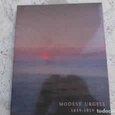 Libros de segunda mano: MODEST URGELL 1839-1919, FUNDACIO LA CAIXA, MUCHAS ILUSTRACIONES. Lote 262699170