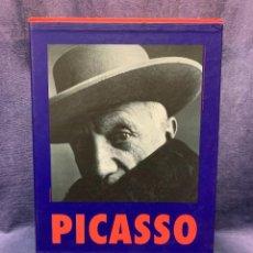 Libros de segunda mano: PABLO PICASSO 2 TOMOS CON ESTUCHE CARSTEN-PETER INGO F.WALTHER 1881-1973-34X25X8CMS. Lote 262708855