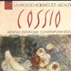 Libros de segunda mano: ARTISTAS ESPAÑOLES CONTEMPORANEOS Nº 62: COSSIO. A-ART-3756. Lote 263024865