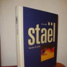Libros de segunda mano: STAEL, 1914-1955 - NICOLAS DE STAEL - CAIXA DE CATALUNYA, CATÁLOGO EN ESPAÑOL, MUY BUEN ESTADO. Lote 263028645