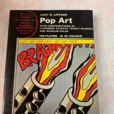 Libros de segunda mano: POP ART , LUCY R . LIPPSRD. Lote 263052210
