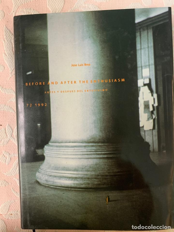BEFORE AND AFTER THE ENTHUSIASM1992 (Libros de Segunda Mano - Bellas artes, ocio y coleccionismo - Pintura)