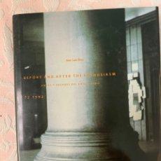 Libros de segunda mano: BEFORE AND AFTER THE ENTHUSIASM1992. Lote 263126395