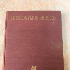 Libros de segunda mano: EL BOSCO, EN EL PRADO Y EN EL ESCORIAL 1948, CON CUADROS DESPLEGABLES. Lote 263673760