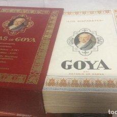 Libros de segunda mano: OBRAS DE GOYA DE ANTONIO DE HORNA. (EJEMPLAR NUMERADO) 8 TOMOS. EDICIONES DE ARTE, MADRID, 1974-75. Lote 263713805