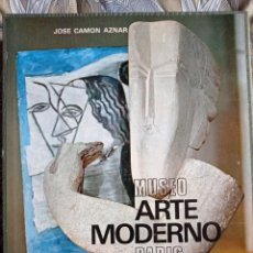 Libros de segunda mano: MUSEO ARTE MODERNO PARÍS. JOSE CAMON AZNAR. AGUILAR EDICIONES, 1967.. Lote 265182504