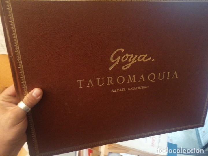 RAFAEL CASRIEGO. GOYA TAUROMAQUIA (Libros de Segunda Mano - Bellas artes, ocio y coleccionismo - Pintura)