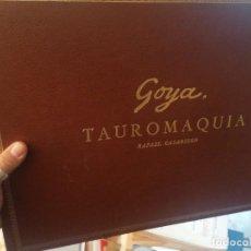 Libros de segunda mano: RAFAEL CASRIEGO. GOYA TAUROMAQUIA. Lote 265475874