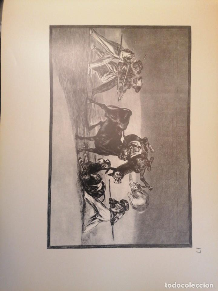 Libros de segunda mano: Rafael Casriego. Goya Tauromaquia - Foto 4 - 265475874