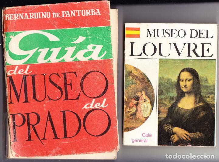 GUIAS MUSEOS DEL PRADO Y DEL LOUVRE Y PLANO DEL LOUVRE - VER DESCRIPCIÓN - OFERTA LIQUIDACIÓN (Libros de Segunda Mano - Bellas artes, ocio y coleccionismo - Pintura)