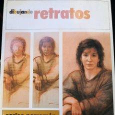 Libros de segunda mano: DIBUJANDO RETRATOS. SERIES PARRAMÓN. PASO A PASO. PRIMERA EDICIÓN OCTUBRE 1989. PÁGINAS 64.. Lote 266228368