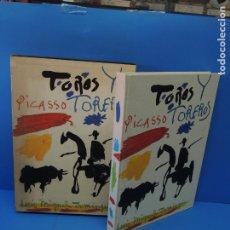 Libros de segunda mano: TOROS Y TOREROS.- PICASSO.. Lote 266368973