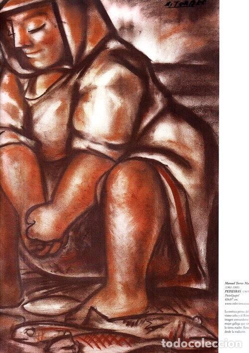 Libros de segunda mano: A ARTE GALEGA. CAIXANOVA. MASIDE. LAXEIRO. LUGRIS. CASTELAO. PINTURA. GRAN FORMATO. GALICIA. - Foto 19 - 266818379