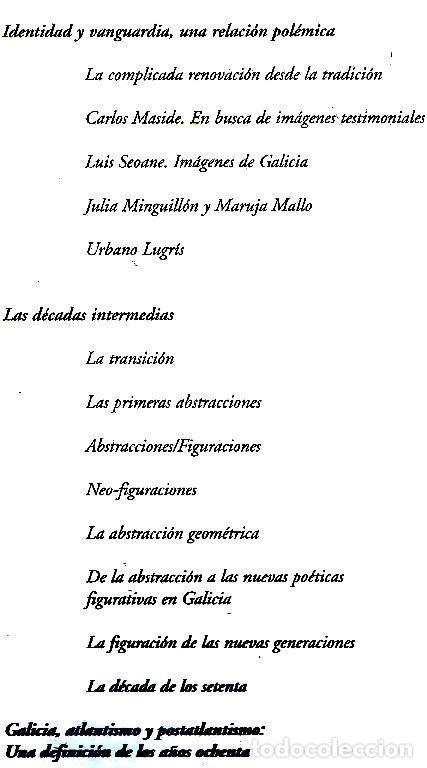 Libros de segunda mano: A ARTE GALEGA. CAIXANOVA. MASIDE. LAXEIRO. LUGRIS. CASTELAO. PINTURA. GRAN FORMATO. GALICIA. - Foto 28 - 266818379