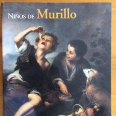 Libros de segunda mano: PINTURA- NIÑOS DE MURILLO- MUSEO DEL PRADO 2001. Lote 266876524