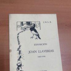 Livros em segunda mão: EXPOSICIÓN JOAN LLAVERIAS 1977.. Lote 267719914