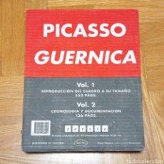 Libros de segunda mano: PICASSO. GUERNICA. POESÍA Nº39 Y 40. Lote 267858399
