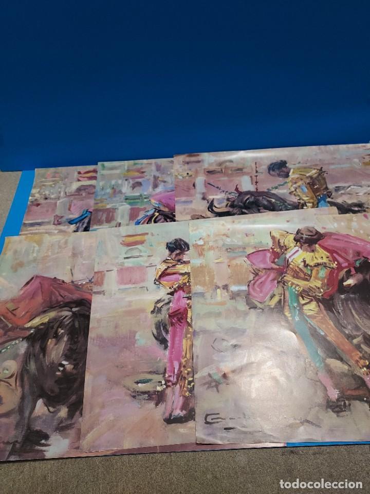 LOTE DE SEIS REPRODUCCIONES DEL PINTOR MADRILEÑO..ANGEL GONZÁLEZ MARQUEZ...1907/1977... (Libros de Segunda Mano - Bellas artes, ocio y coleccionismo - Pintura)