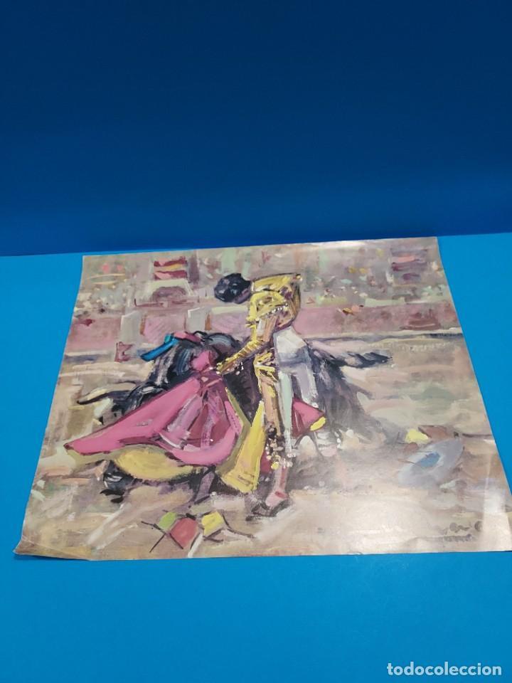 Libros de segunda mano: LOTE DE SEIS REPRODUCCIONES DEL PINTOR MADRILEÑO..ANGEL GONZÁLEZ MARQUEZ...1907/1977... - Foto 2 - 268604314