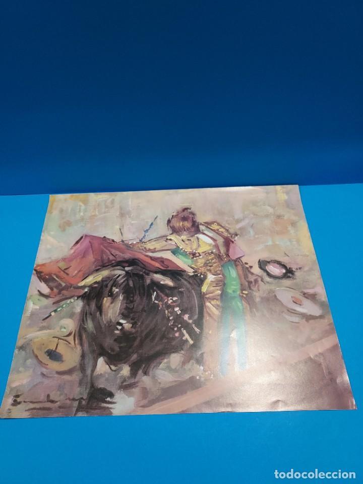 Libros de segunda mano: LOTE DE SEIS REPRODUCCIONES DEL PINTOR MADRILEÑO..ANGEL GONZÁLEZ MARQUEZ...1907/1977... - Foto 5 - 268604314