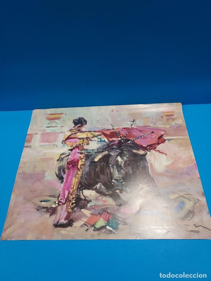 Libros de segunda mano: LOTE DE SEIS REPRODUCCIONES DEL PINTOR MADRILEÑO..ANGEL GONZÁLEZ MARQUEZ...1907/1977... - Foto 6 - 268604314