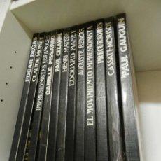 Libros de segunda mano: LIBRO S ENCICLOPEDIA PINTURA EL MOVIMIENTO IMPRESIONISTA - 12 TOMOS - CLUB INTERNACIONAL DEL LIBRO. Lote 268810614