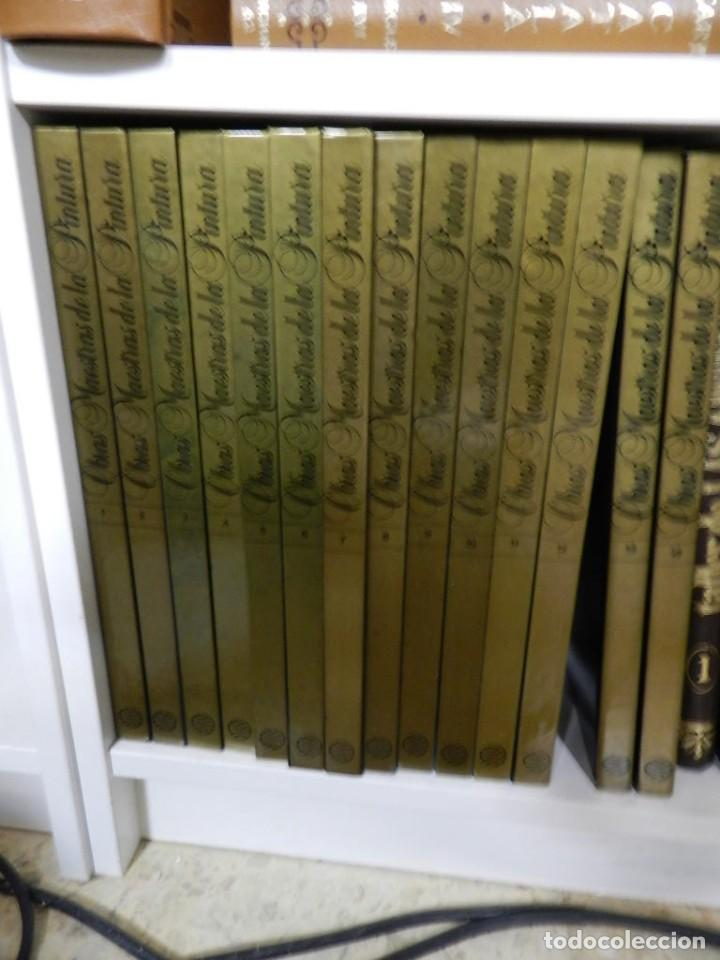 LIBRO S ENCICLOPEDIA OBRAS MAESTRAS DE LA PINTURA ED PLANETA 14 TOMOS COMPLETA BUEN ESTADO (Libros de Segunda Mano - Bellas artes, ocio y coleccionismo - Pintura)