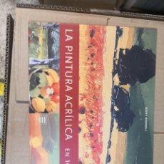 Libros de segunda mano: LIBRO-LA PINTURA ACRÍLICA EN 10 LECCIONES-JENNY RODWELL-TASCHEN-VER FOTOGRAFÍAS. Lote 268841689