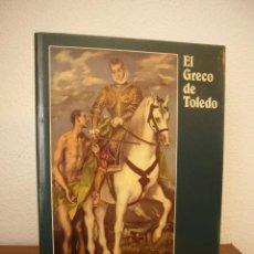 Libros de segunda mano: EL GRECO DE TOLEDO (ALIANZA FORMA, 1982) JONATHAN BROWN Y OTROS. ED. EN TELA. PERFECTO.. Lote 268990539