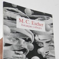 Libros de segunda mano: M.C. ESCHER. ESTAMPAS Y DIBUJOS. Lote 269209653
