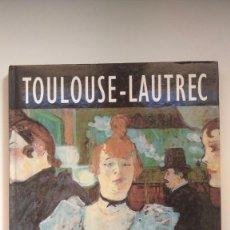 Libros de segunda mano: LA ERA DE LOS IMPRESIONISTAS Nº 2, TOULOUSE-LAUTREC (1864-1901) - ED. GLOBUS, 1994. Lote 269278428
