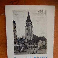 Libros de segunda mano: BERNARD BUFFET - PARIS - GUSTAVO GILI 1957 1ª EDICIÓN MINIA Nº 32. Lote 269462973
