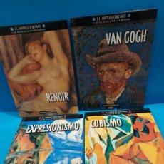 Libros de segunda mano: EL IMPRESIONISMO Y LOS INICIOS DE LA PINTURA MODERNA...4 LIBROS....2000... Lote 269694073