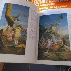 Livros em segunda mão: TAPICES Y CARTONES DE GOYA, PUBLICADO POR LUNWERG EDITORES MADRID 1996, RARO. Lote 271593433