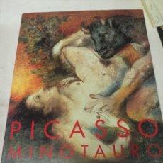 Libros de segunda mano: PICASSO MINOTAURO CATÁLOGO EXPOSICIÓN REINA SOFÍA AÑO 2001. Lote 273109268