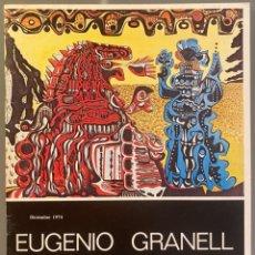 Libros de segunda mano: EUGENIO GRANELL. UN SURREALISTA ESPAÑOL EN NUEVA YORK. EJEMPLAR DEDICADO POR EL ARTISTA. Lote 273956273