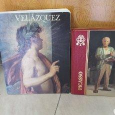 Libros de segunda mano: 2 LIBROS DE ARTE Y PINTURA VELAZQUEZ Y PICASSO (BIOGRAFIAS). Lote 274563803