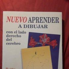 Livros em segunda mão: APRENDER A DIBUJAR CON EL LADO DERECHO DEL CEREBRO, DE BETTY EDWARDS. RARO. ED. AMPLIADA Y REVISADA. Lote 273764323