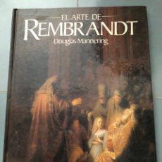 Livros em segunda mão: EL ARTE DE REMBRANDT - DOUGLAS MANNERING. Lote 274854383