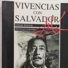 Libri di seconda mano: VIVENCIAS CONS SALVADOR DALÍ. EMILIO PUIGNAU. EDITORIAL JUVENTUD. Lote 275286263