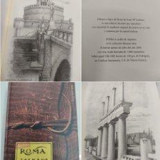 Libros de segunda mano: ROMA - JESÚS MARI LAZKANO (BASSARAI ARTE, 2003) CUADERNO DE DIBUJOS A LÁPIZ NUEVO PERFECTO ESTADO. Lote 275543728