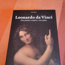 Libri di seconda mano: FRANK ZÖLLNER - LEONARDO DA VINCI. OBRA PICTÓRICA COMPLETA Y OBRA GRÁFICA. TASCHEN, 2007 XXL. Lote 275675828