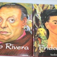 Livros em segunda mão: FRIDA KAHLO / GERRY SOUTER Y DIEGO RIVERA / GERRY SOUTER / 2 TOMOS ESTUCHE. Lote 275733178