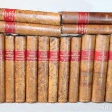 Libri di seconda mano: OBRAS DE D.PEDRO ANTONIO DE ALARCON 19 TOMOS,RIVADENEYRA AÑOS 20. Lote 275736168