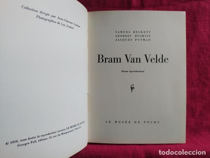 Libros de segunda mano: Bram Van Velde. Douze reproductions - Putman, Jacques; Beckett, Samuel; Duthuit, George - Foto 2 - 275909378