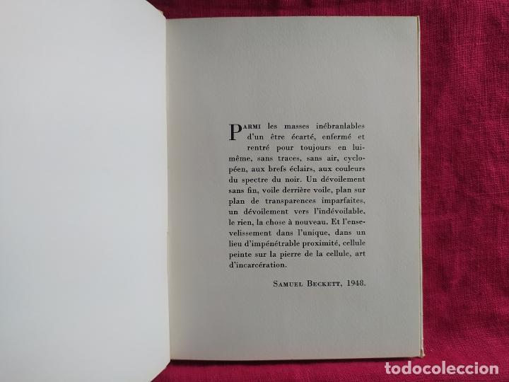 Libros de segunda mano: Bram Van Velde. Douze reproductions - Putman, Jacques; Beckett, Samuel; Duthuit, George - Foto 4 - 275909378