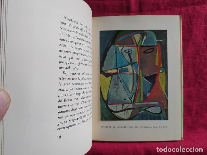 Libros de segunda mano: Bram Van Velde. Douze reproductions - Putman, Jacques; Beckett, Samuel; Duthuit, George - Foto 5 - 275909378