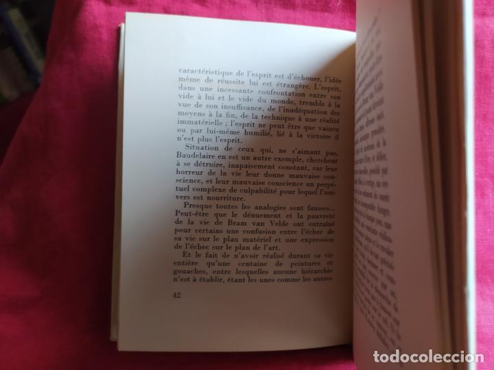 Libros de segunda mano: Bram Van Velde. Douze reproductions - Putman, Jacques; Beckett, Samuel; Duthuit, George - Foto 8 - 275909378