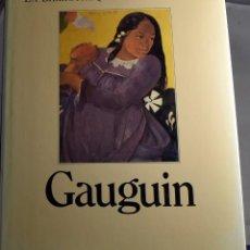 Libros de segunda mano: LA BIBLIOTHÉQUE DES EXPOSITIONS: GAUGUIN (TEXTO EN FRANCÉS). Lote 276199238